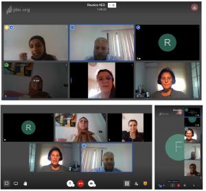 réunion AED en ligne